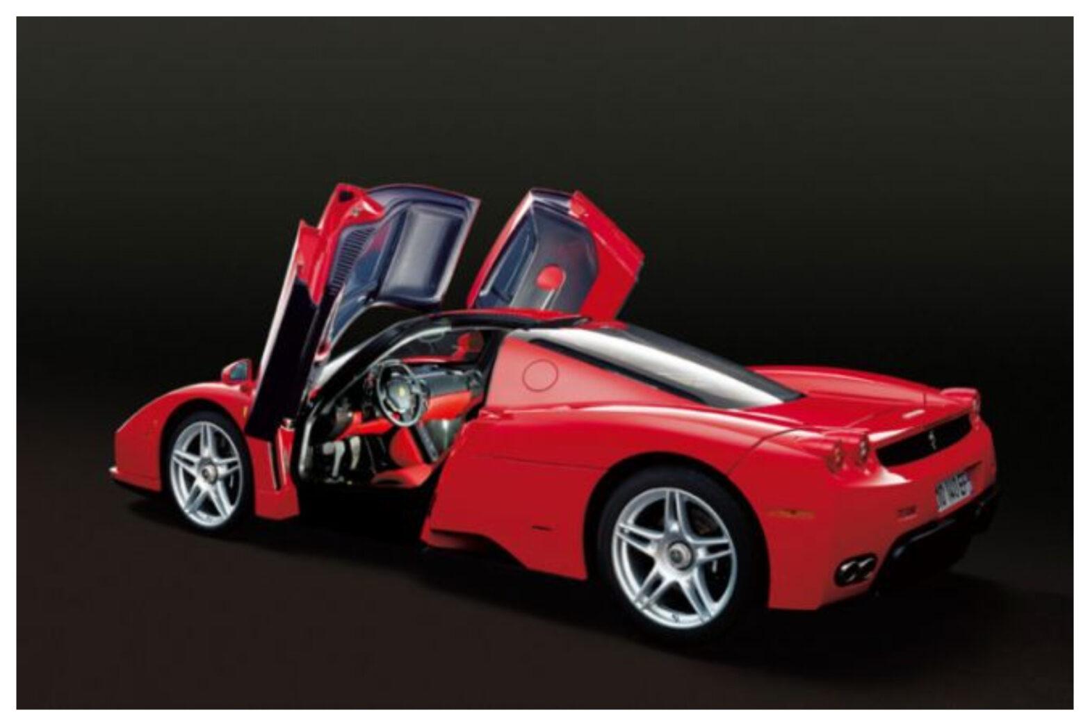 イタリア人以外で初めてフェラーリをデザインした奥山清行氏が自らデザインしたエンツォを購入!