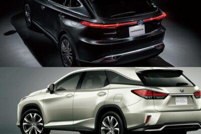 トヨタ新型ハリアーvsレクサス RX│SUVライバル車比較