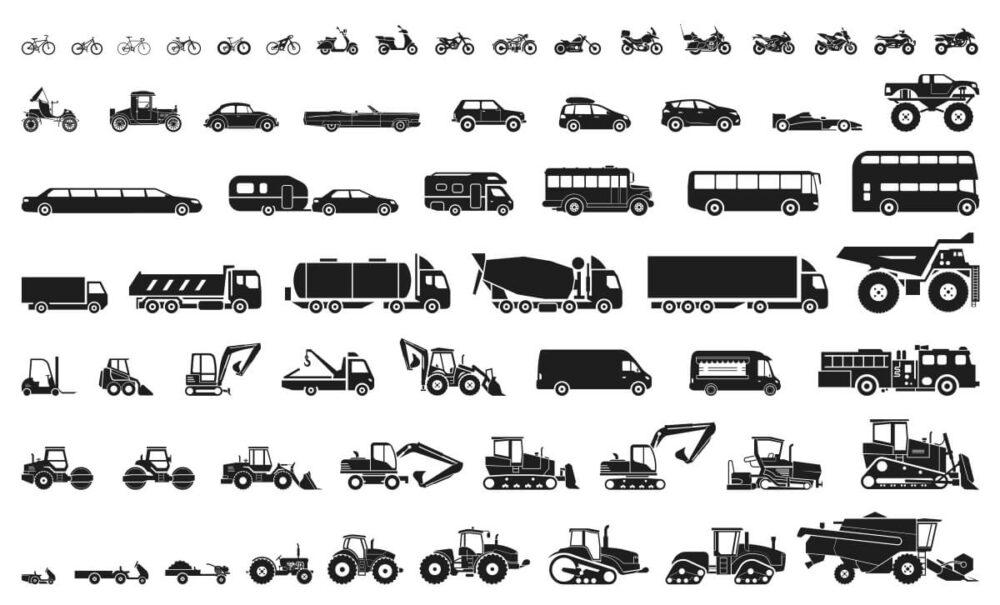 いろいろな車のイラスト