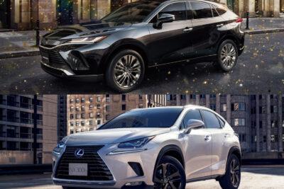 トヨタ新型ハリアーvsレクサス NX│SUVライバル車比較