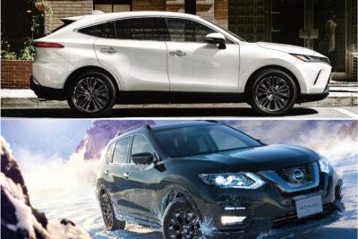 トヨタ新型ハリアーvs日産 エクストレイル|SUVライバル車比較