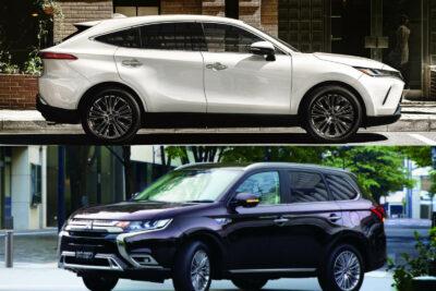 トヨタ新型ハリアーvs三菱 アウトランダー&PHEV│SUVライバル車比較