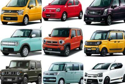 スズキの軽自動車全14車種一覧|特徴と違いをまとめ【2021年最新情報】