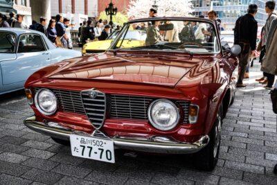 【アルファロメオジュリアGTC】総生産台数1,000台の美しい4人乗りオープンカー