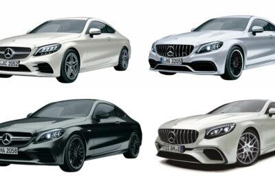新車で買えるメルセデス・ベンツとメルセデスAMGのクーペ【2019年最新情報】