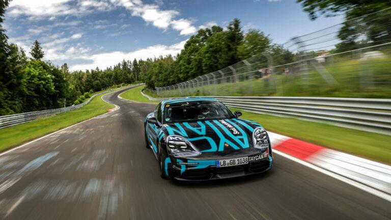 ポルシェ初EV 新型タイカン9月4日発表!世界3か所同時ワールドプレミア