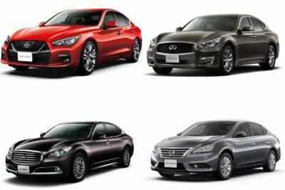 新車で買える日産のセダン【2019年最新情報】