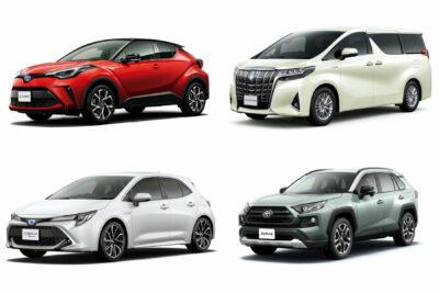 【トヨタ】新車で買える現行車種全45モデル一覧|2020年6月最新情報