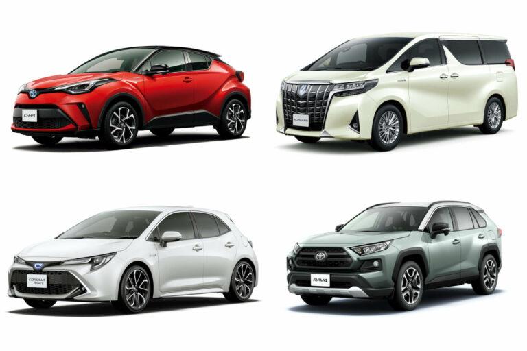 トヨタ】新車で買える現行車種全45モデル一覧|2020年6月最新情報 ...