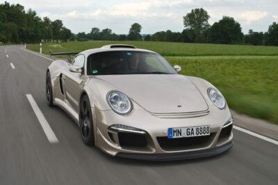 【RUF CTR3/CTR3 クラブスポーツ】最高速370km/hのミッドシップスポーツカー