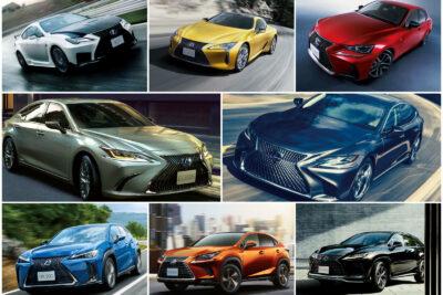 【レクサス】新車で買える現行車種一覧|2020年4月最新情報