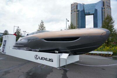 レクサスのスポーツヨットコンセプトが東京モーターショー2019に出展!