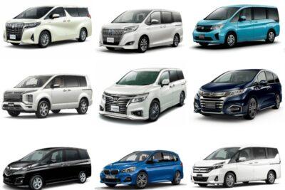 国産車・外車の4WDミニバン全17車種【2019年最新情報】