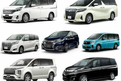 国産車の8人乗りミニバン全13車種【2019年最新版】