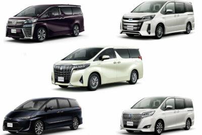 【トヨタのミニバン】新車全8車種一覧比較&口コミ評価|2021年最新情報