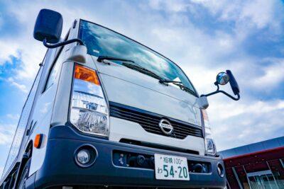 日産アトラス パネルバン試乗「普通免許で運転できるトラック」引っ越しにもどうぞ。