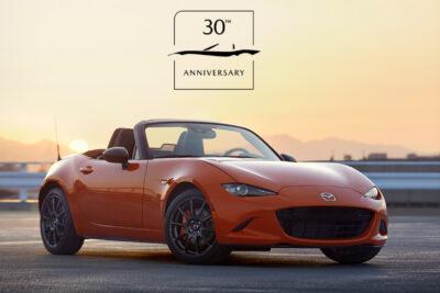 マツダロードスター30周年記念車が発売へ!4月5日より商談予約受け付け|記念トークショーも開催
