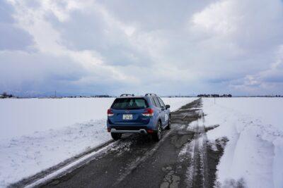 庄内平野をフォレスターe-BOXERで駆ける【SUBARUテックツアー第10弾雪上試乗会レポートVol.5】