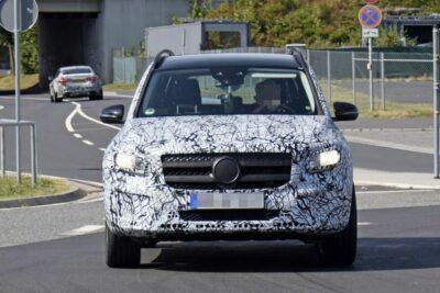 メルセデス・ベンツ新型SUV「GLB」はベイビーGクラス!2019年に登場か?
