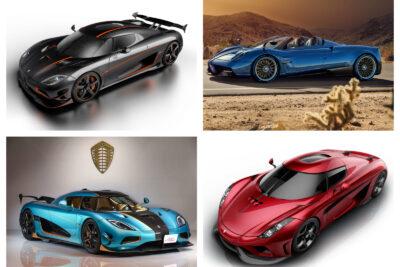 【億超え!】ケーニグセグとパガーニの新車で買える超高級外車オープンカー|2019年最新情報