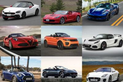 新車で買える外車オープンカー一覧2019年最新情報|マセラティやロータスからシボレーなど
