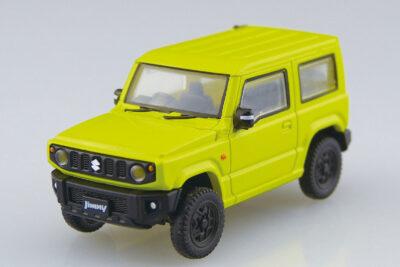 青島文化教材社から新型ジムニーの1/64サイズミニカーが発売!