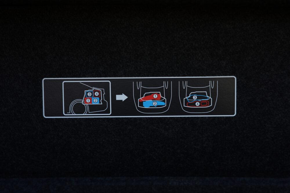 スカイライン GT Type SP ハイブリッド 2WD|ゴルフバッグの積み方