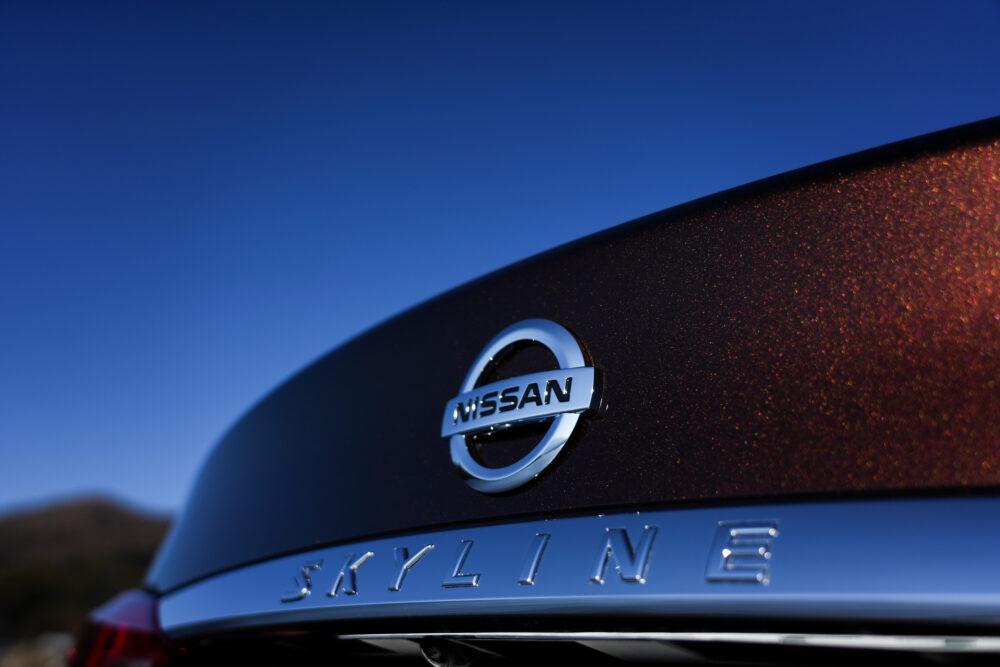 スカイライン GT Type SP ハイブリッド 2WD|エンブレム