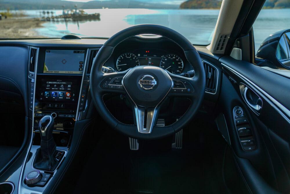 スカイライン GT Type SP ハイブリッド 2WD|ハンドル周り