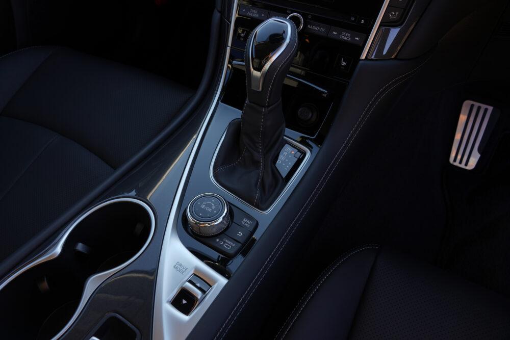 スカイライン GT Type SP ハイブリッド 2WD|シフトノブ