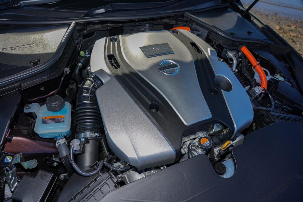 スカイライン GT Type SP ハイブリッド 2WD|エンジン