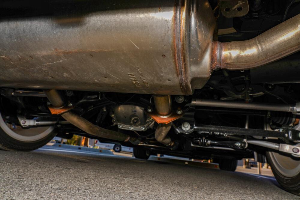 スカイライン GT Type SP ハイブリッド 2WD|足回り・マフラー