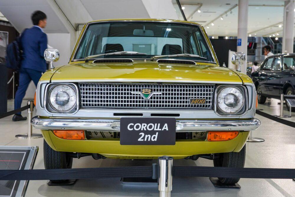 トヨタ カローラ TE20型 フロント
