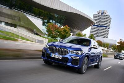 新型BMW X6がフルモデルチェンジ!より存在感のあるデザインに!