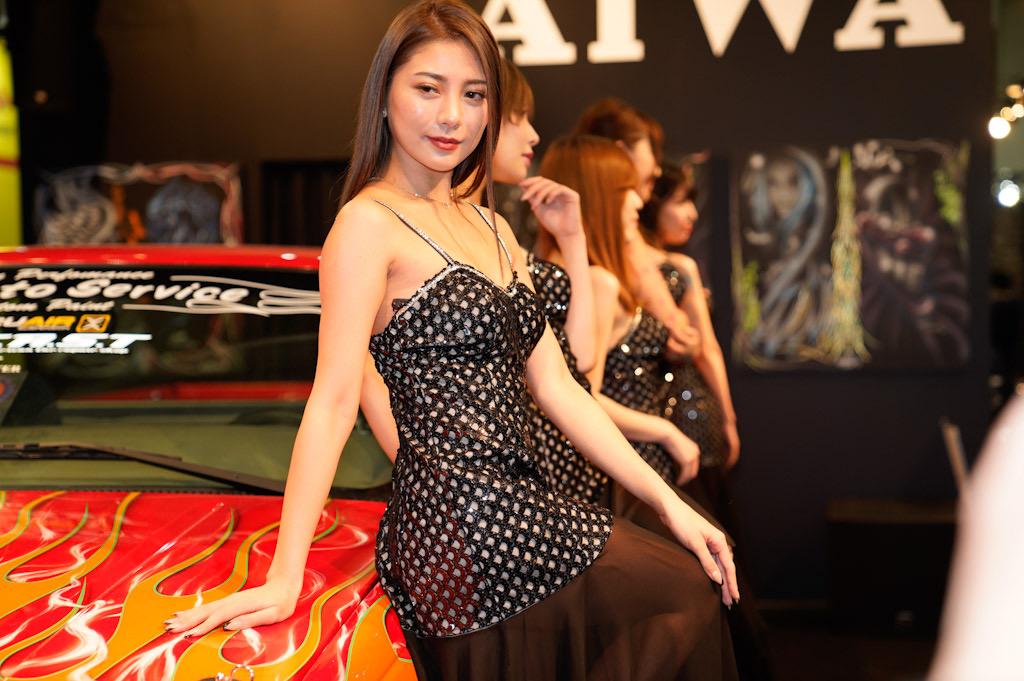 東京オートサロン2020 AIWA コンパニオン