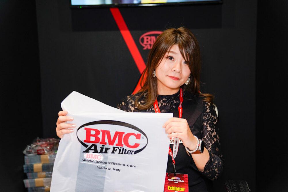 東京オートサロン2020 BMC Air Filter コンパニオン