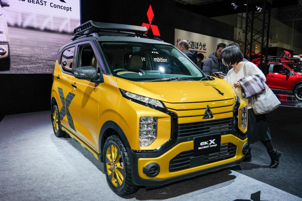 東京オートサロン2020に出展された三菱 eKクロス ワイルドビーストコンセプト