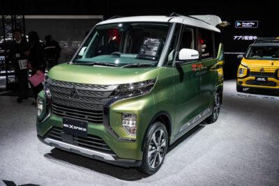 三菱新型eKクロス スペース・新型eKスペースが東京オートサロン2020に出展
