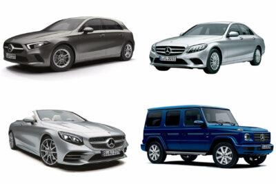 【メルセデス・ベンツ】新車で買える現行車種一覧|2020年4月最新情報
