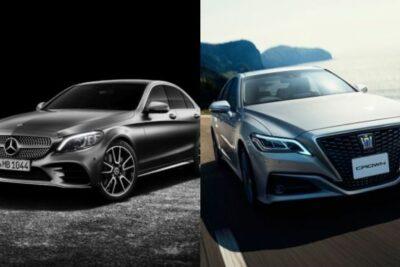 【トヨタ新型クラウン vs メルセデス・ベンツCクラス】人気外車と国産セダンのライバル車徹底比較