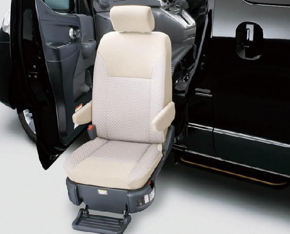 日産 NV200バネット チェアキャブ 助手席スライドアップシート