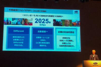 スバリスト必見!「SUBARU技術ミーティング」全資料|未来はどうなる?