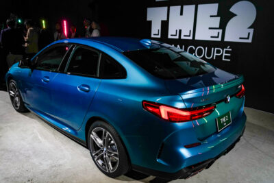 新型BMW 2シリーズ グラン クーペはパックマンとコラボ