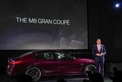 新型BMW M8 グラン クーペ がデビュー。いろいろとヤバいクルマだ!