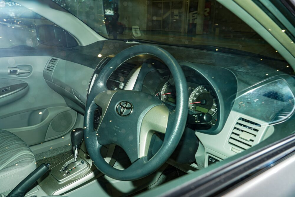トヨタ カローラ アクシオ(140系) ステアリングホイール