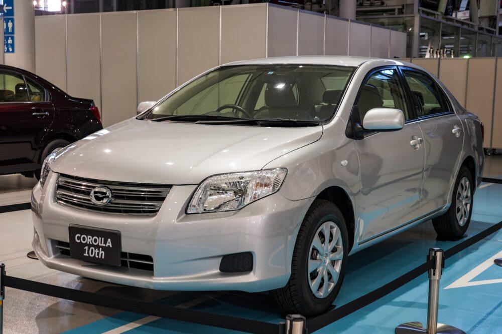 トヨタ カローラ アクシオ(140系) フロントサイド