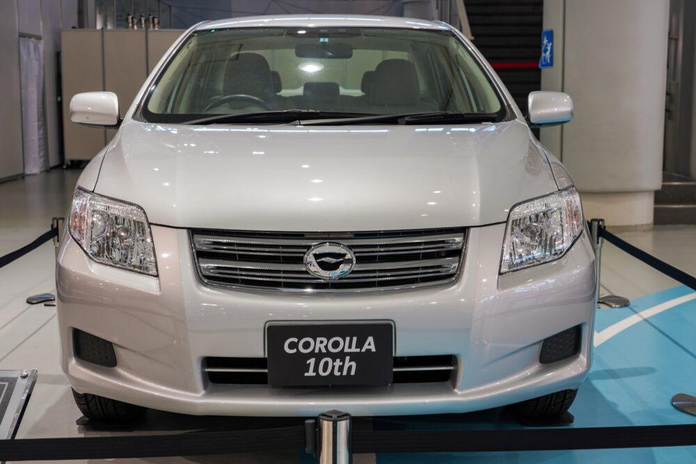 トヨタ カローラ アクシオ(140系) フロント
