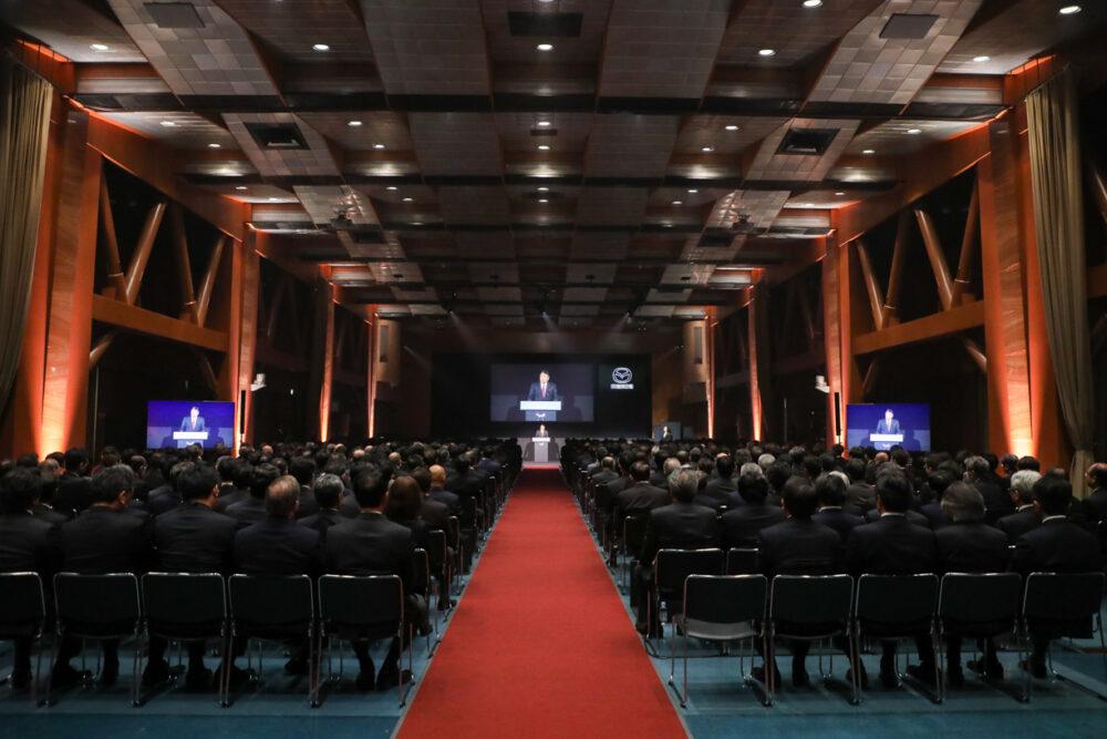 マツダ創立100周年記念式典