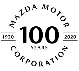 マツダ創立100周年記念ロゴ