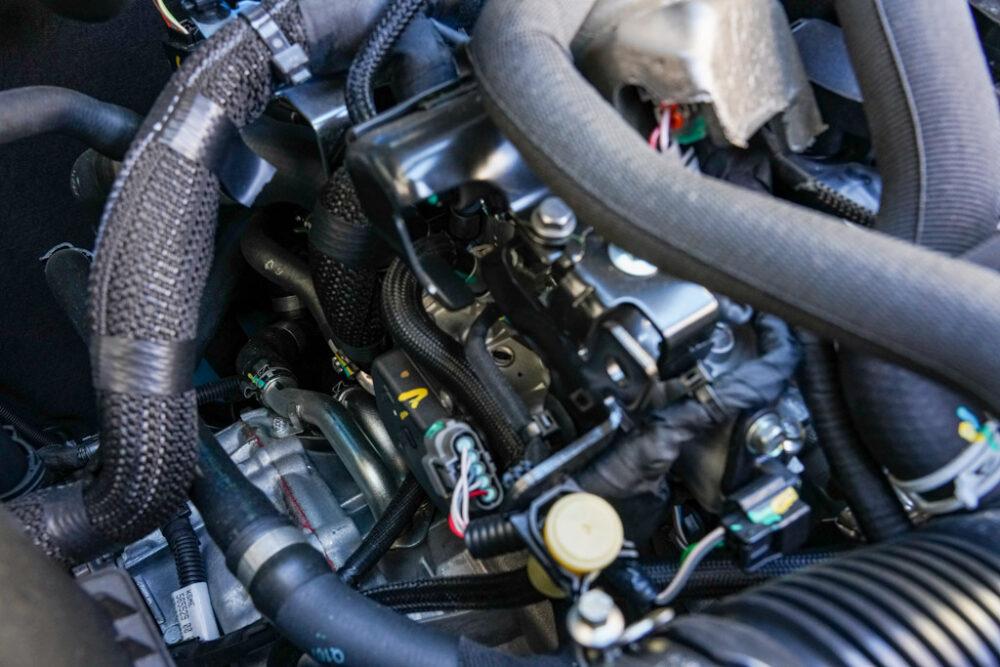 アルピーヌA110のエンジンとトランスミッション